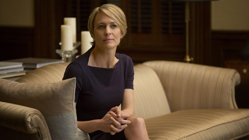 Robin Wright, mejor actriz en serie dramática por 'House of cards'