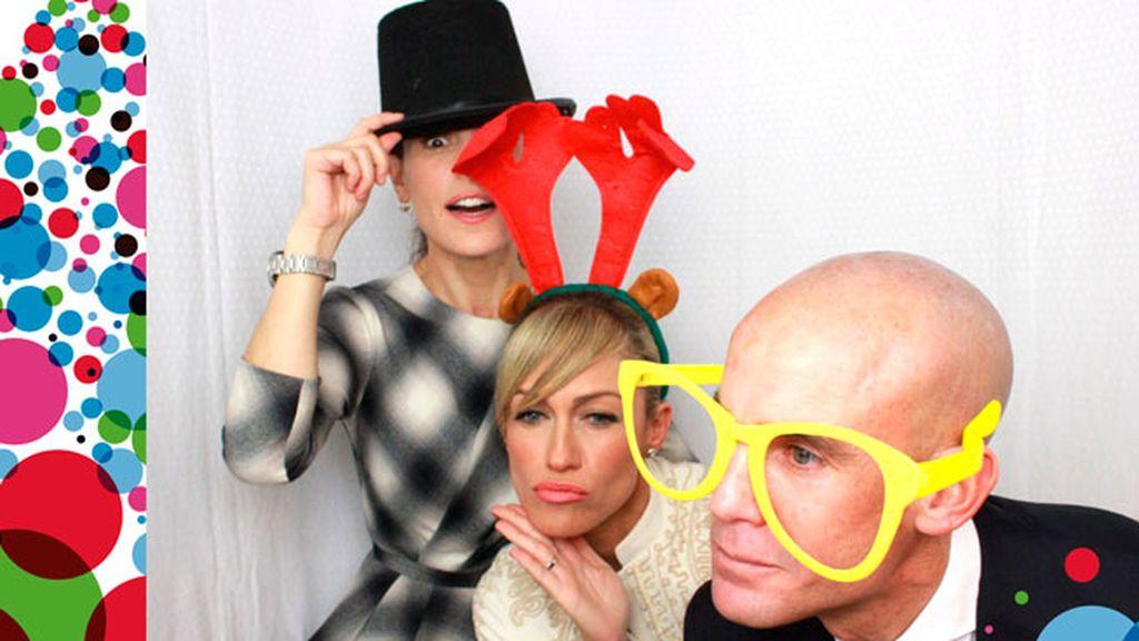 Ramón Fuentes, Luján Argüelles y Raquel Sánchez Silva celebran su #navidadMEDIASET