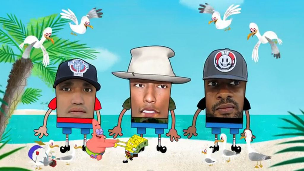 N.E.R.D y Pharrell Williams, en la banda sonora del filme