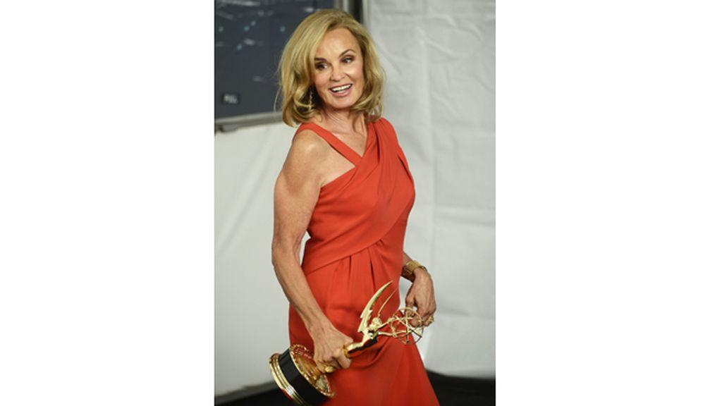 Jessica Lange, mejor actriz de reparto de miniserie o película para la televisión por 'American Horror Story' (FX)