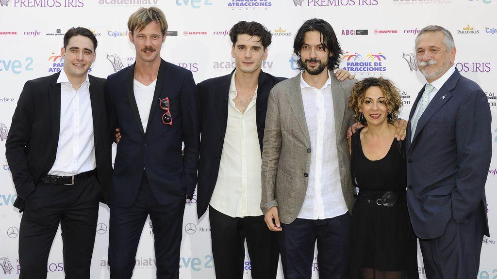 'Gran hotel' (Antena 3) recibió los premios de mejor actriz (Concha Velasco), mejor director de Arte (Carlos Dorremochea) y de Fotografía (Jacobo Martínez)