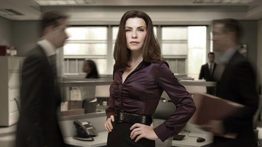 'The good wife' (Fox y Nova), mejor actriz de drama (Julianna Margulies)