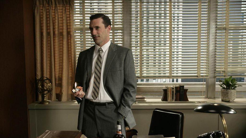 'Mad Men' (Cuatro, Canal+), mejor actor de drama (Jon Hamm)