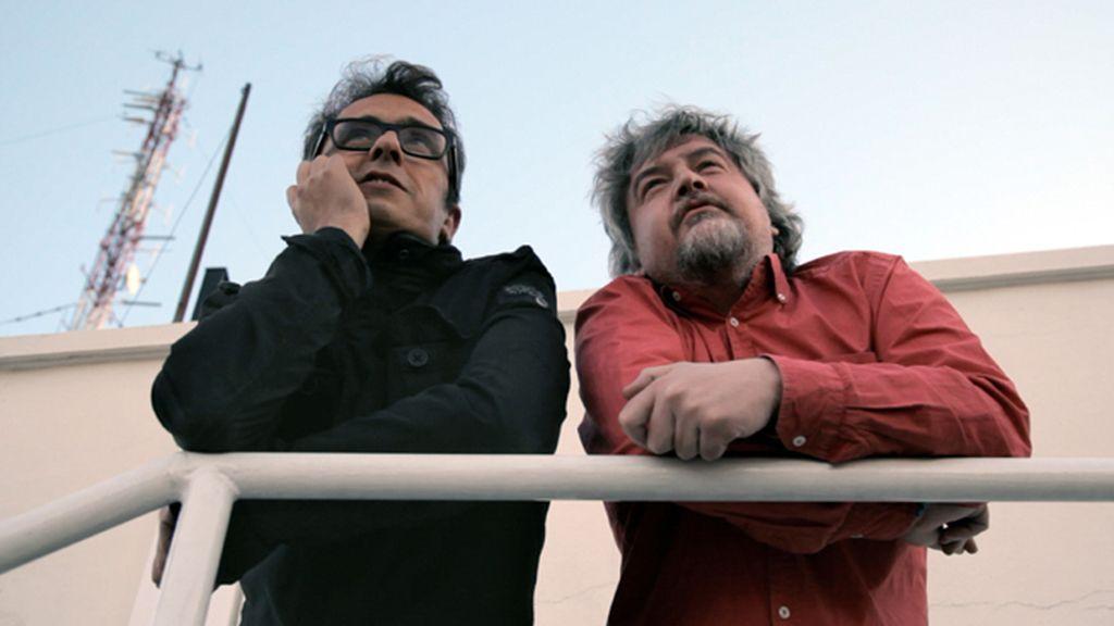 Andreu Buenafuente con Javier Coronas
