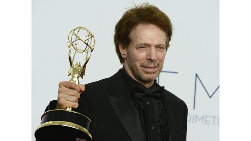 El productor Jerry Bruckheimer, premio a mejor 'reality' por 'The amazing race' (CBS)
