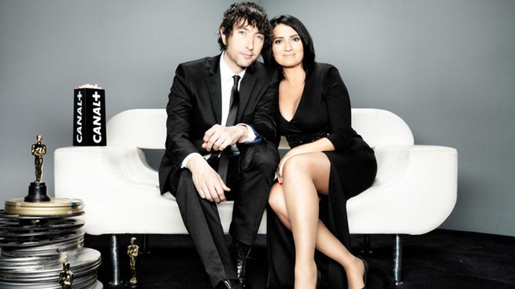 Toni Garrido y Silvia Abril