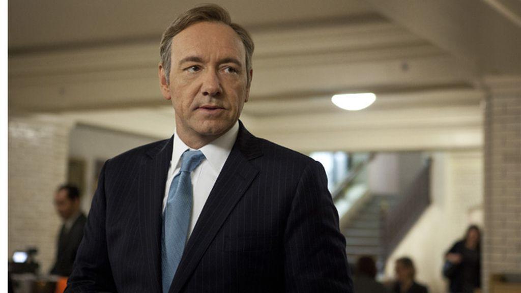 Kevin Spacey, mejor actor en serie dramática por 'House of cards'