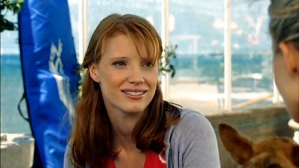 Jessica Chastain (candidata a mejor actriz por 'La noche más oscura'), en 'Veronica Mars'