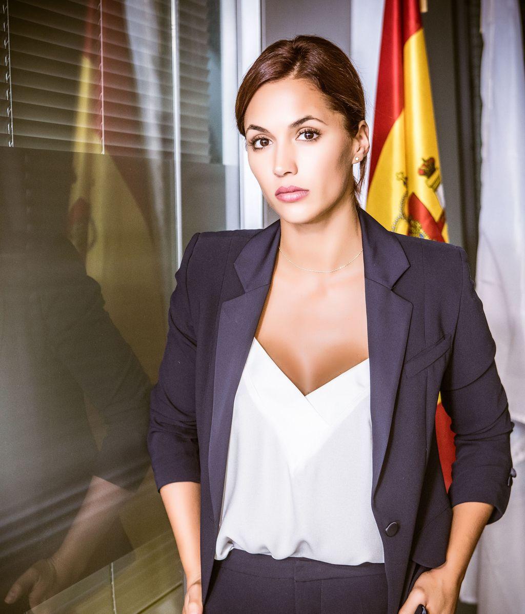 Michelle Calvó, protagonista de la serie de Telecinco 'Secretos de Estado'
