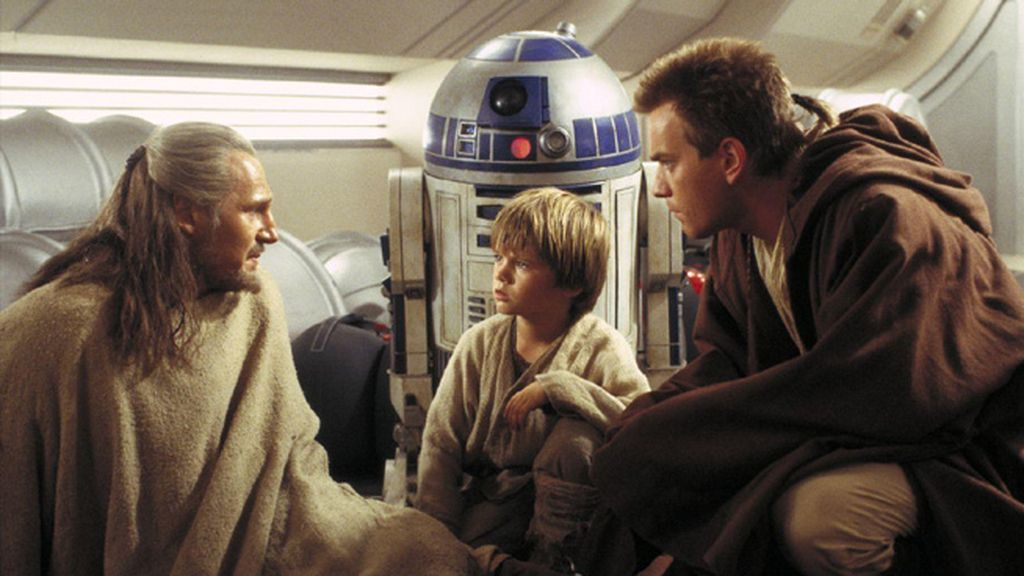 'Star Wars: la amenaza fantasma'
