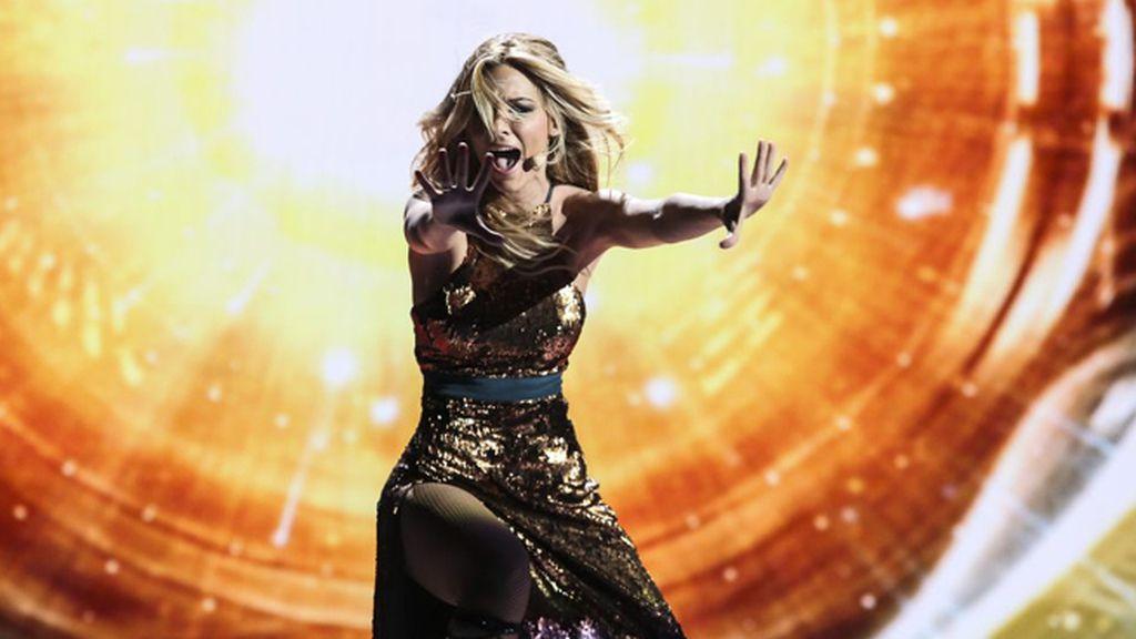 La representante de TVE actuará en la segunda mitad de la final