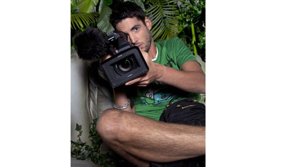 Santiago Trancho, operador de cámara del programa