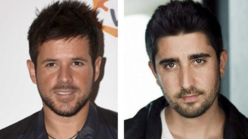 Pablo López y Alex Ubago