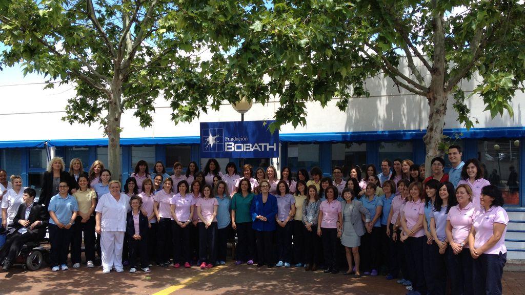 Os presentamos a los trabajadores de la Fundación Bobath