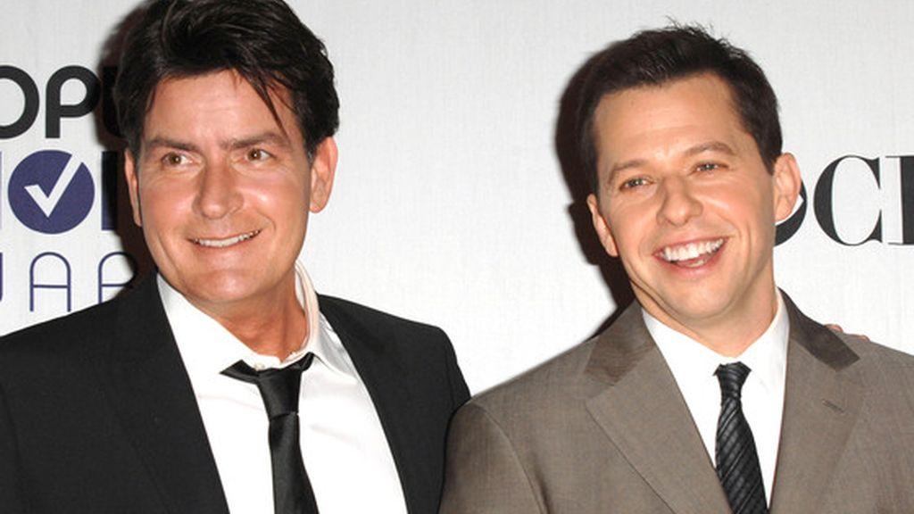 Charlie Sheen  y Jon Cryer