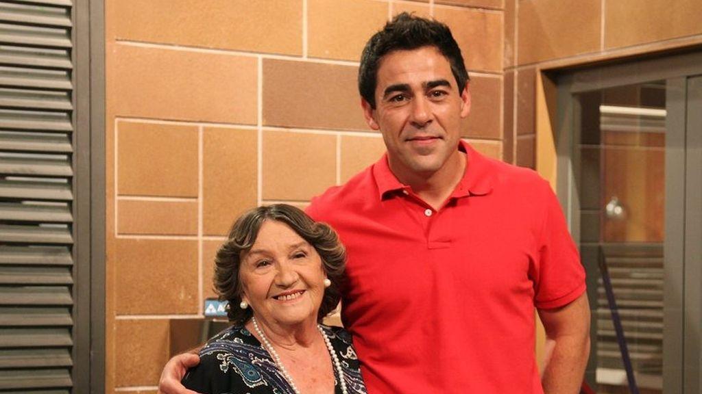Amparo Valle y Pablo Chiapella