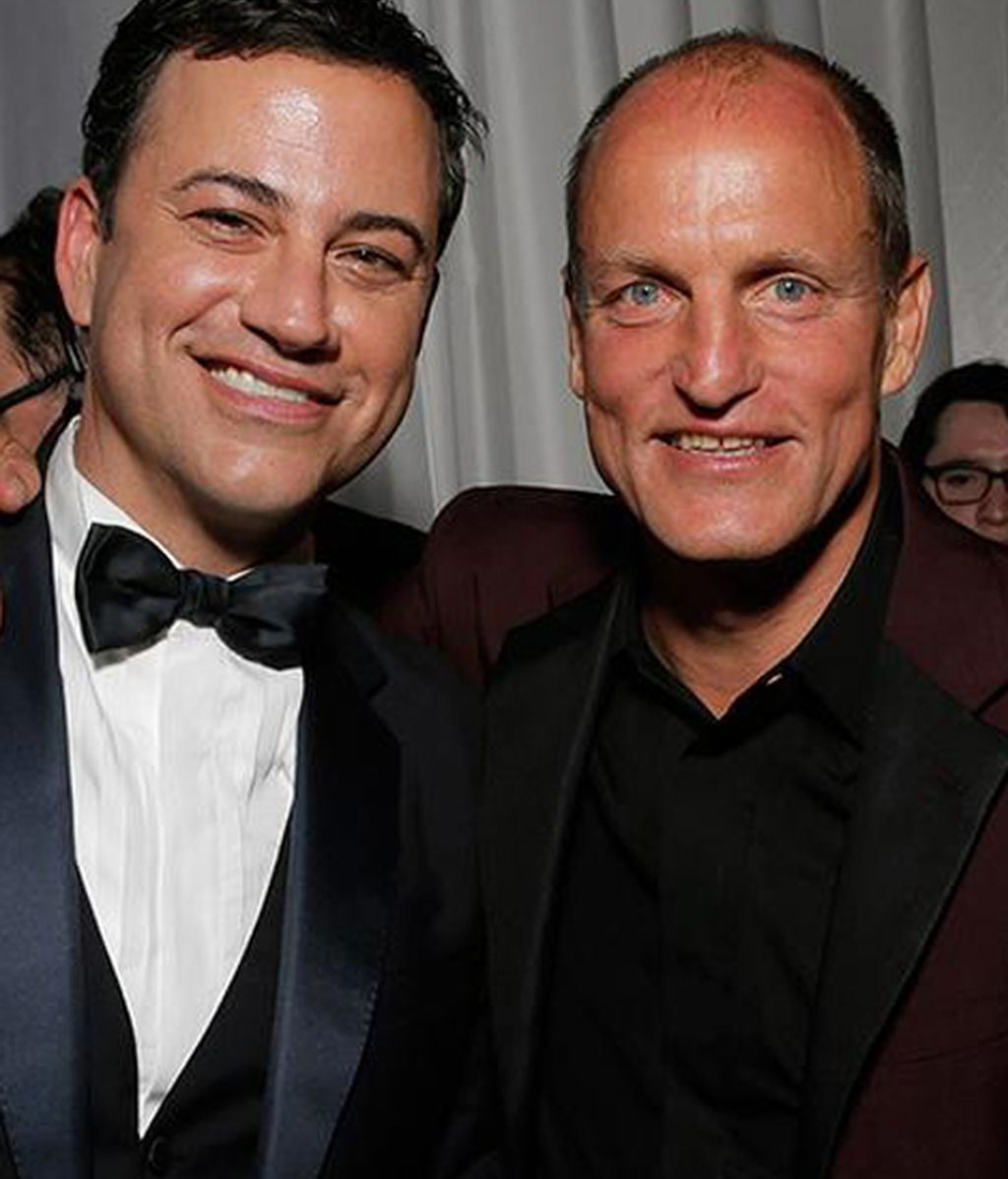 Jimmy Kimmel ('Jimmy Kimmel Live') y Woody Harrelson ('True detective')