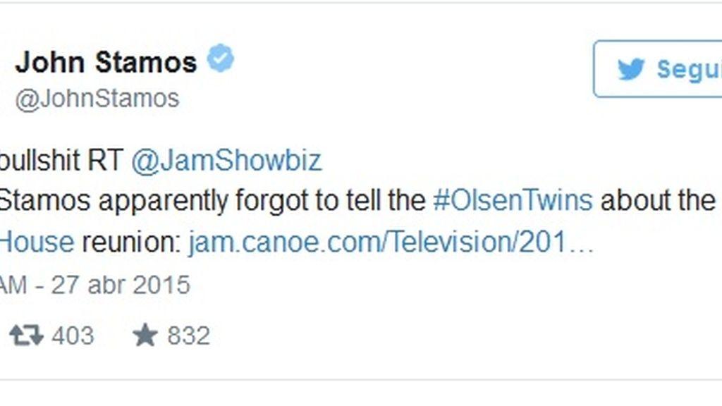 Tuit John Stamos