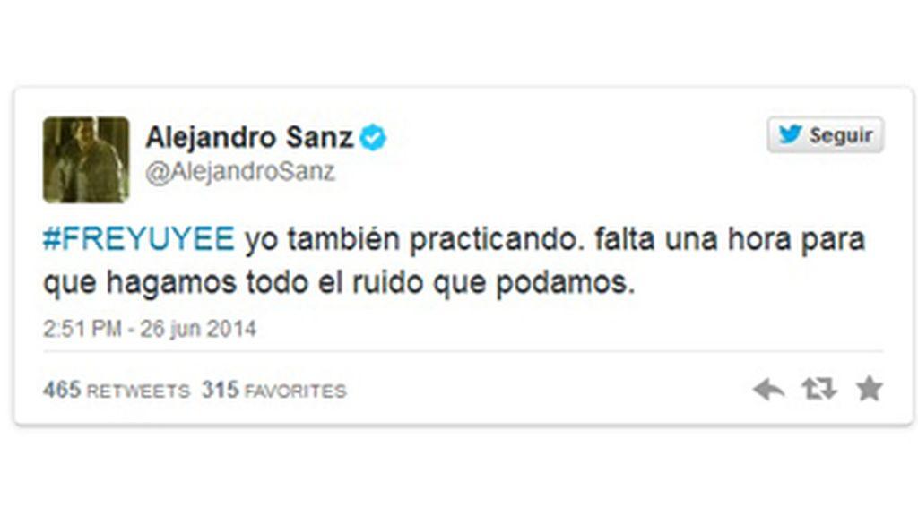 Alejandro Sanz #freeYuyee