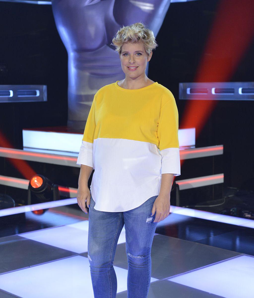 Tania Llasera, presentadora/colaboradora de los programas de Telecinco 'La voz' y 'La voz kids'