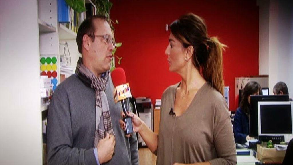 Raquel Bollo visita el centro de la Cooperativa REDES
