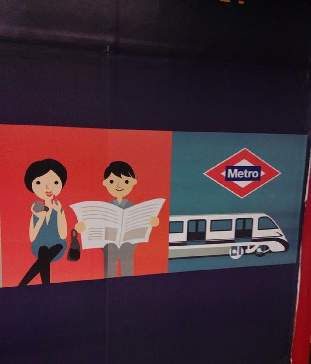 Publicidad sexista Metro Madrid