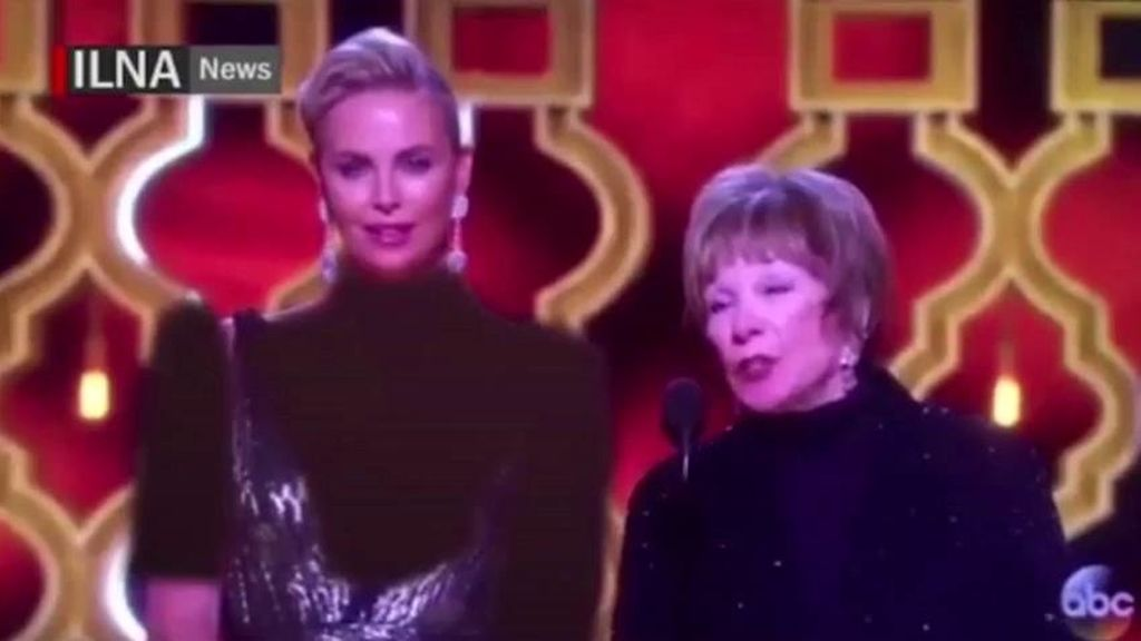Charlize Theron y Shirley MacLane censuradas en la gala de los Oscar 2017 por un medio iraní