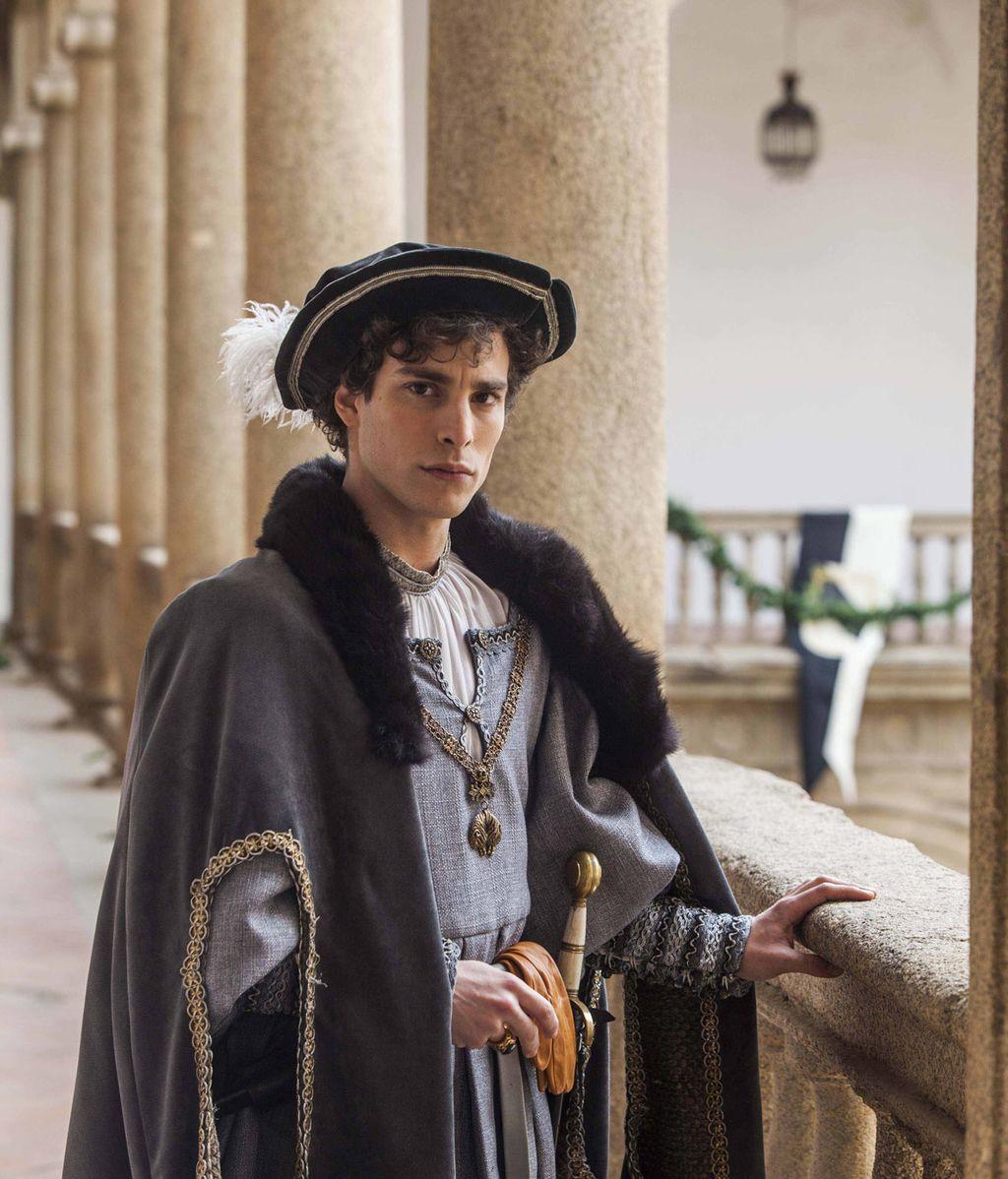 Eric Balbás es Fernando de Habsburgo