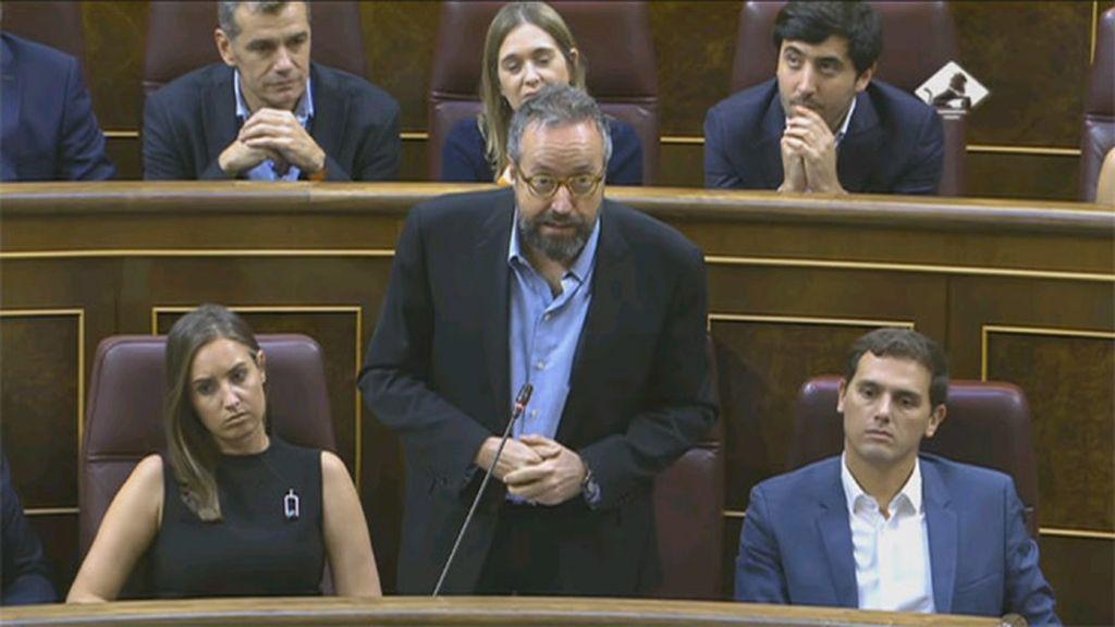 Juan Carlos Girauta en el Congreso de los Diputados