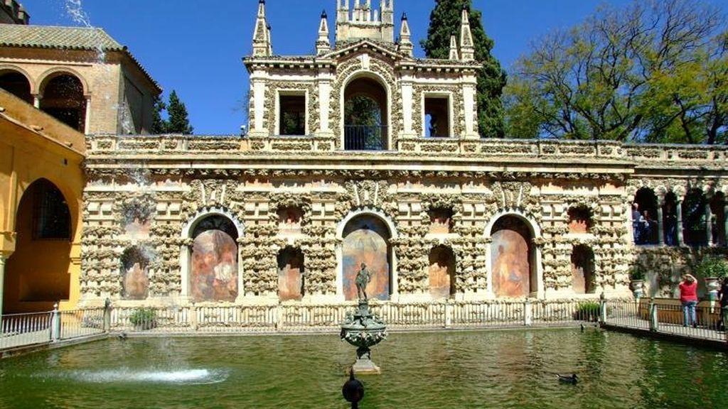 Alcázar de Sevilla Estanque de Mercurio