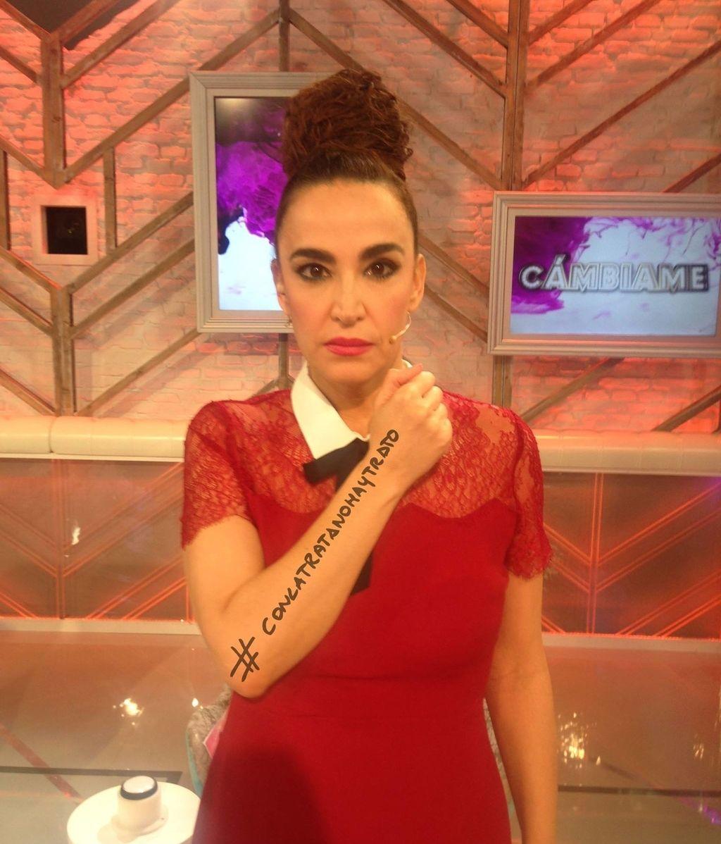 Cristina Rodríguez piensa que la trata es un asunto de todos