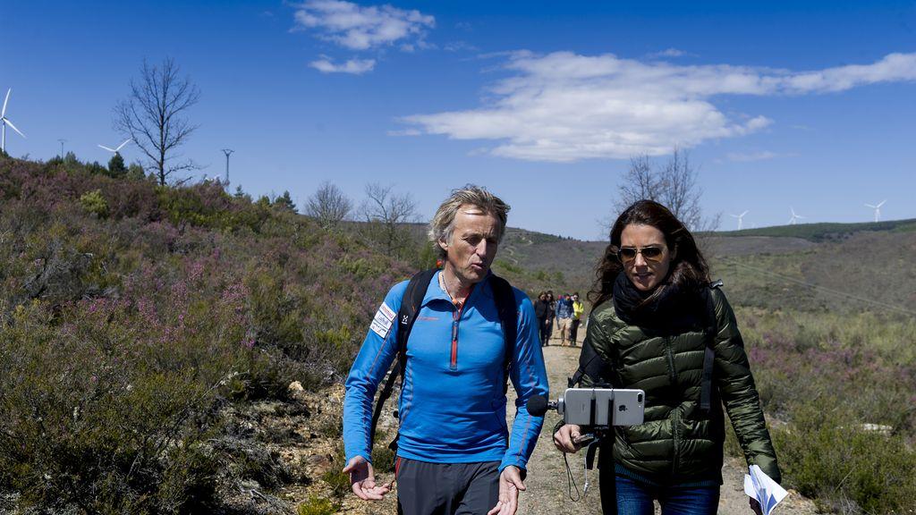 Periodistas de TV, famosos aventureros por un día con Jesús Calleja (6)