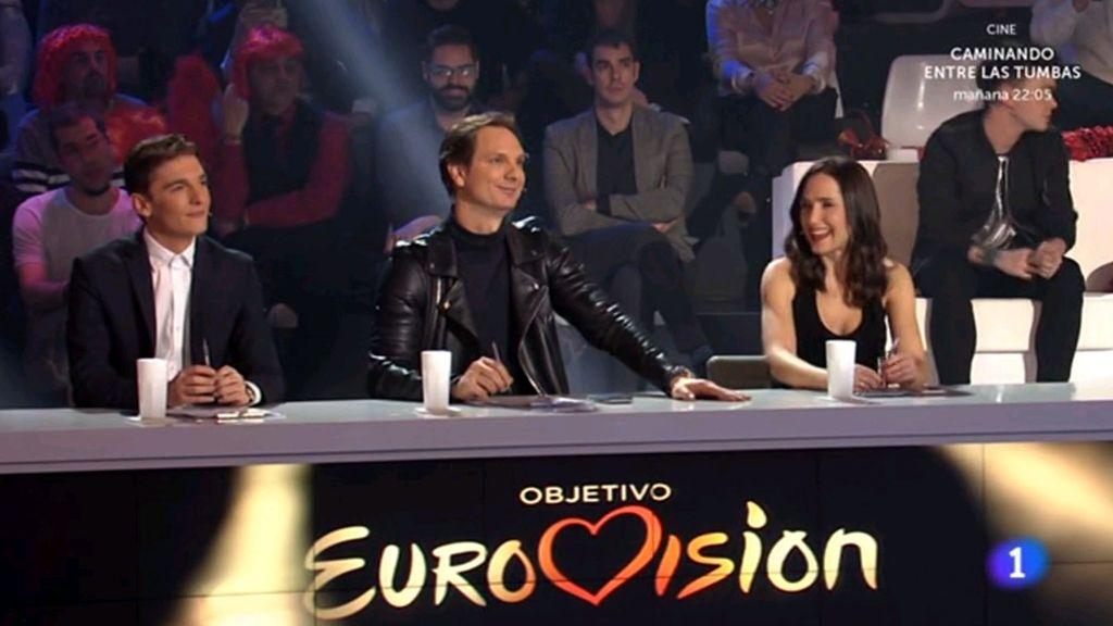 Xavi Martínez, Javier Cárnedas y Virginia Díaz son el jurado en 'Objetivo Eurovisión'