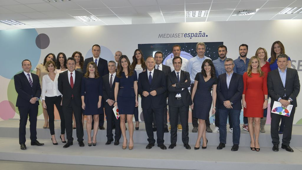 Equipo de informativos Mediaset España