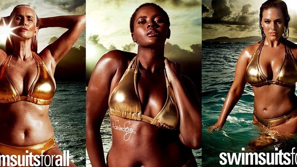 Las 'curvies' y las patas de gallo llegan a la portada de 'Sports Illustrated'