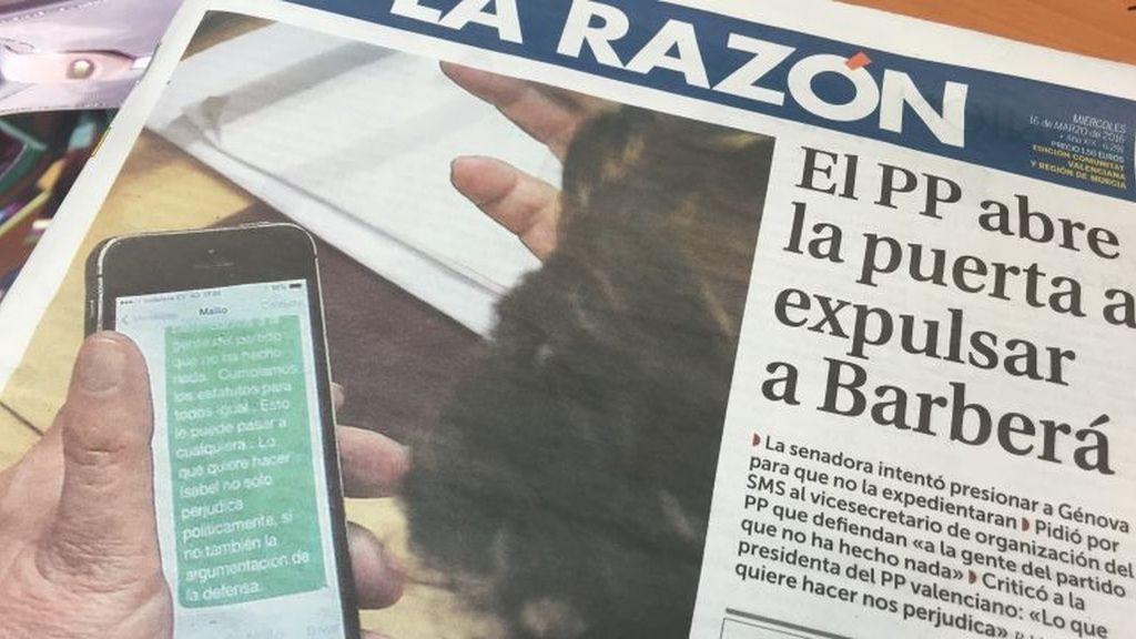 Sms, Rita Barberá