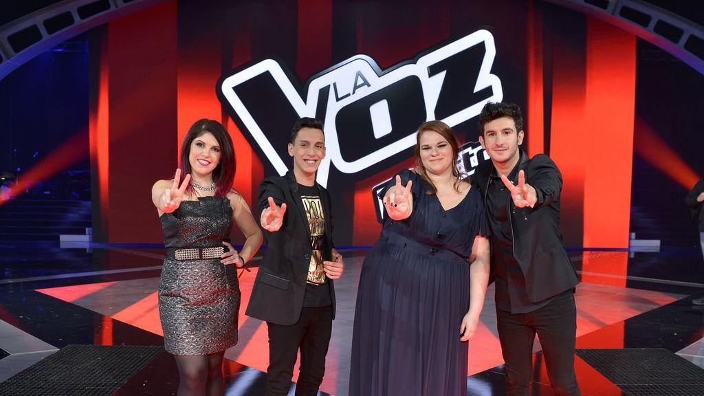 Finalistas de La voz 4