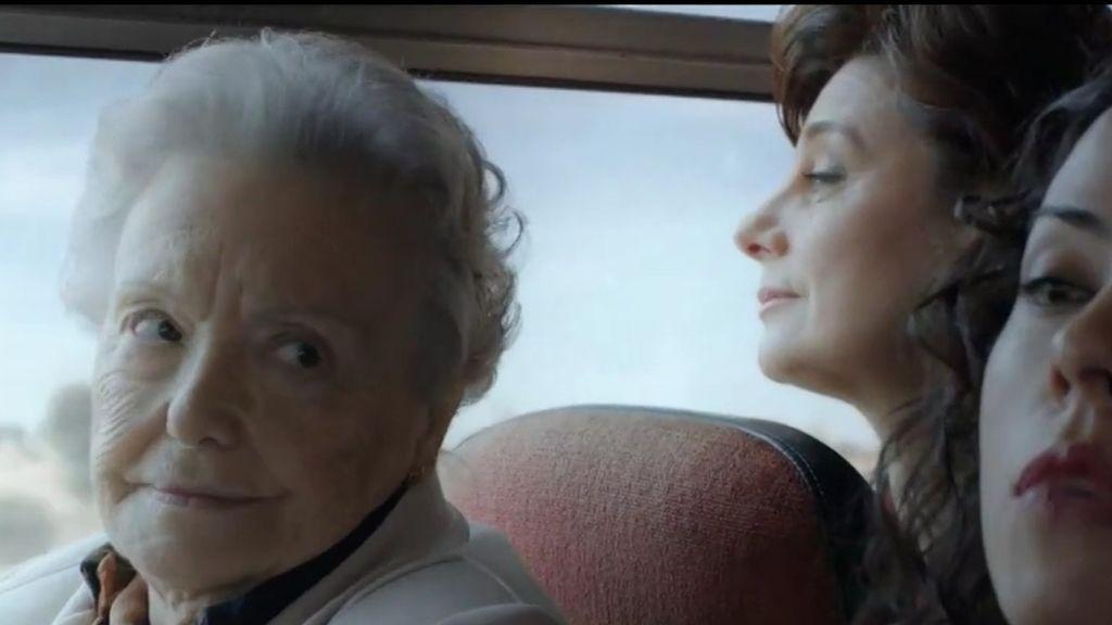María Galiana (Herminia), en una escena de la serie 'Cuéntame'