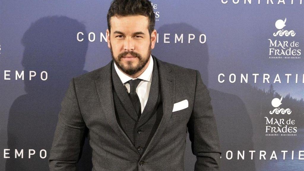 Mario Casas en el estreno de 'Contratiempo'