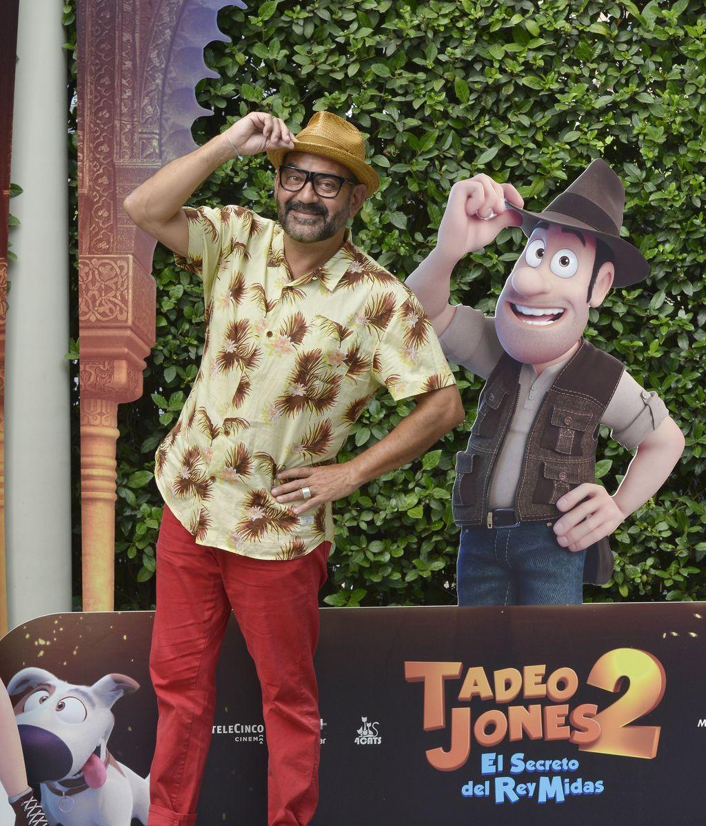 José Corbacho en el estreno de Tadeo Jones 2: 'El secreto del rey Midas'