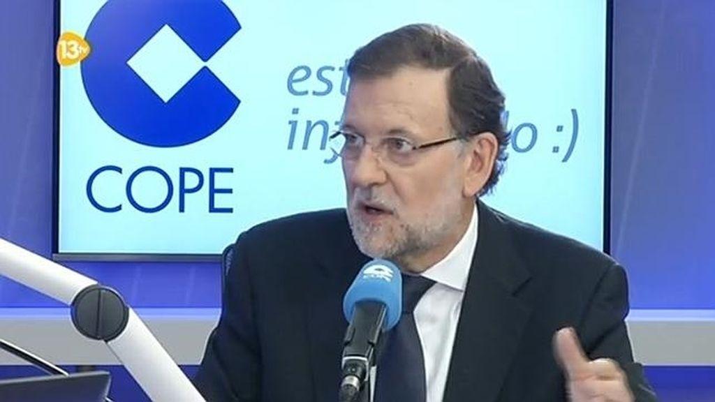 Rajoy en la Cope