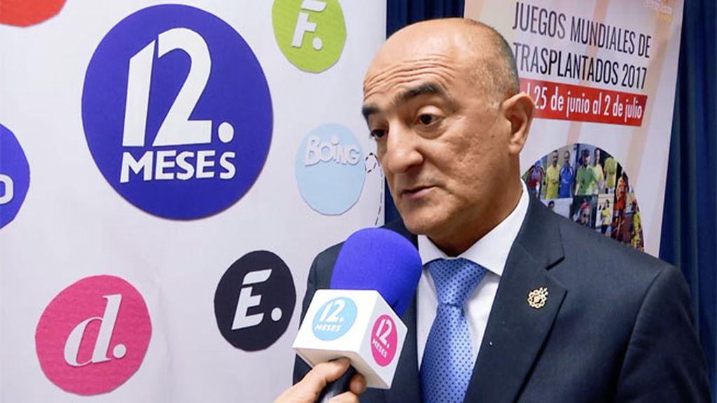 """Mateo Ruiz: """"Estos Juegos son la fiesta de la vida. Es todo un espectáculo"""""""
