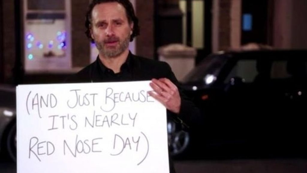 Andrew Lincoln es Mark en 'Love actually'