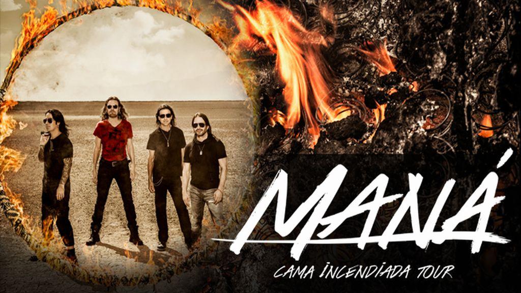 maná anuncia los primeros conciertos de cama inciendiada tour, entradas a la venta en taquillamediaset