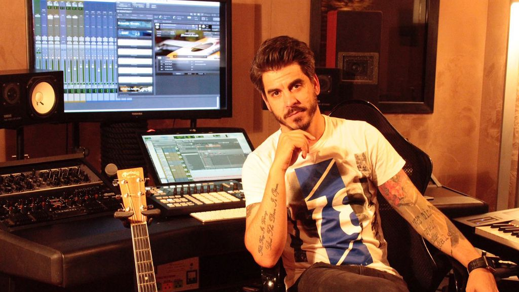 Rubén Villanueva, compositor y componente del jurado de RTVE para el Festival de Eurovisión