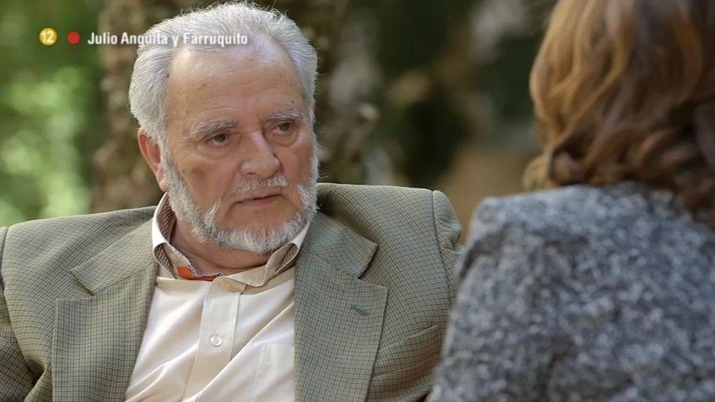 "Julio Anguita: ""Me niego a responsabilizar a Aznar de la muerte de mi hijo"""