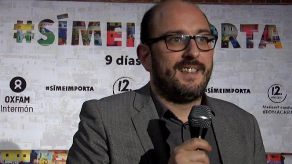 """Borja Cobeaga: """"Somos afortunados por crecer en un país desarrollado. Otros no tienen la misma suerte"""""""
