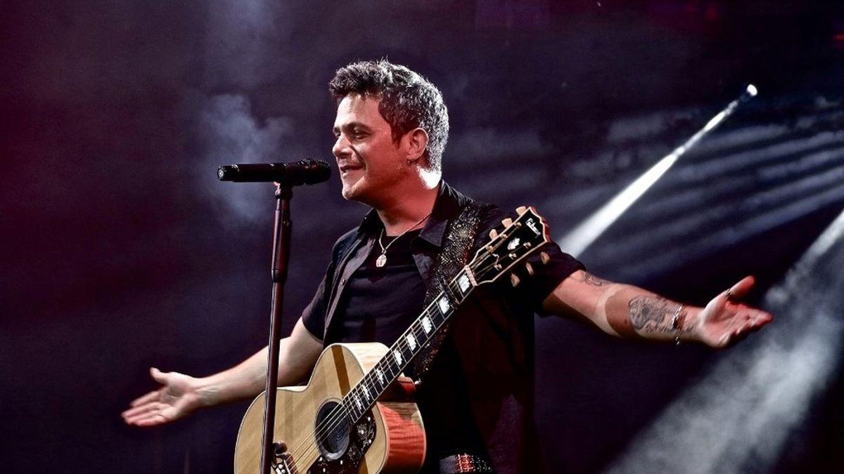 Alejandro Sanz en concierto