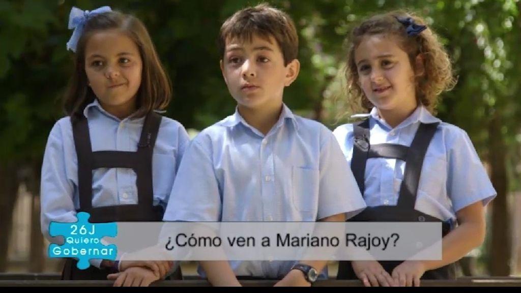 """""""¿Mariano, por qué no nos repartes a todos dinero y vivimos de lujo?"""""""