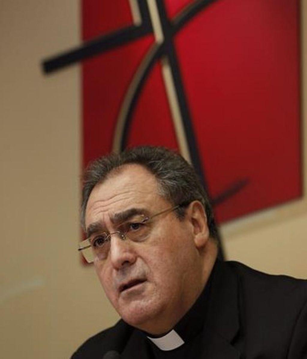 José María Gil Tamayo, secretario general y portavoz de la Conferencia Episcopal Española (CEE)